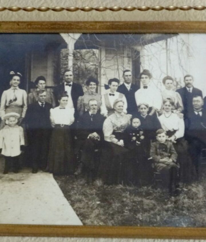 This picture was taken in the mid 1880's.  Since it looks like winter, we think it must have been a family Christmas picture.  My grandfather is sitting on his grandmother's lap.