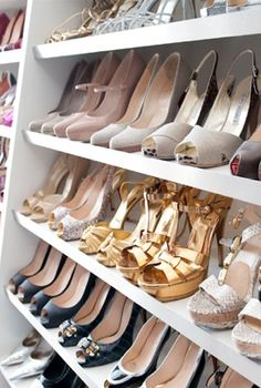 shoes shoes shoes, closet, storage ideas