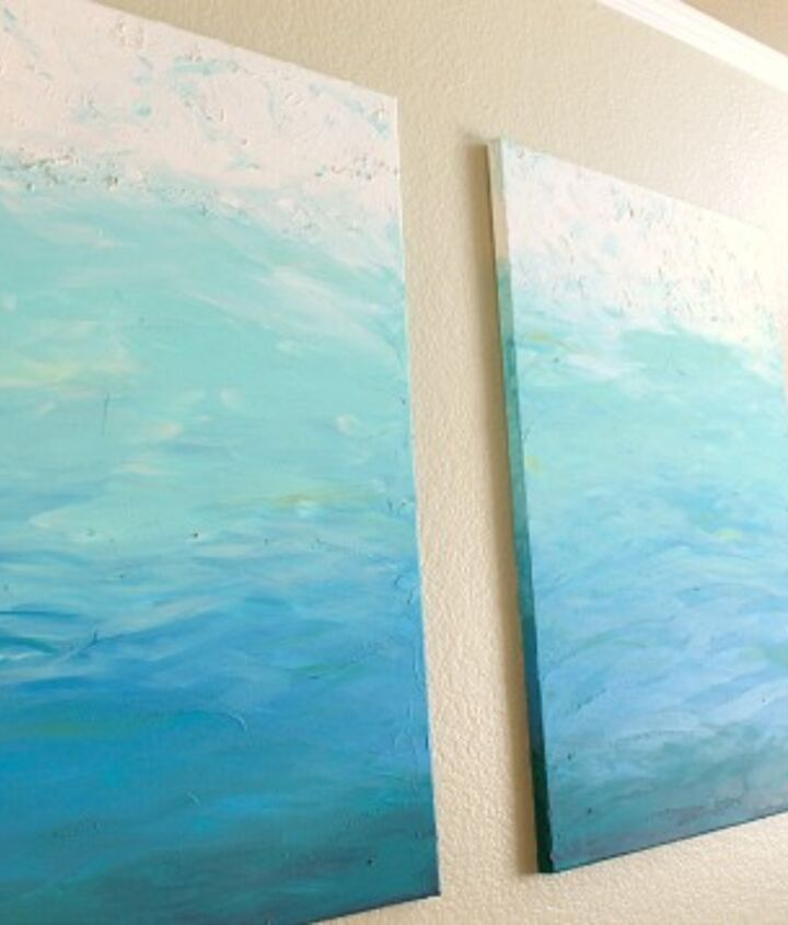 foolproof diy impressionistic paintings, crafts, home decor