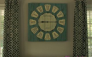 diy pallet clock, diy, home decor, how to, pallet