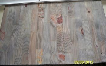 TESTIMONIAL: AGING WOOD INSTANTLY!!