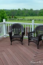tips for creating a beautiful outdoor space, decks, outdoor living, Empty deck space that needs some personality and style
