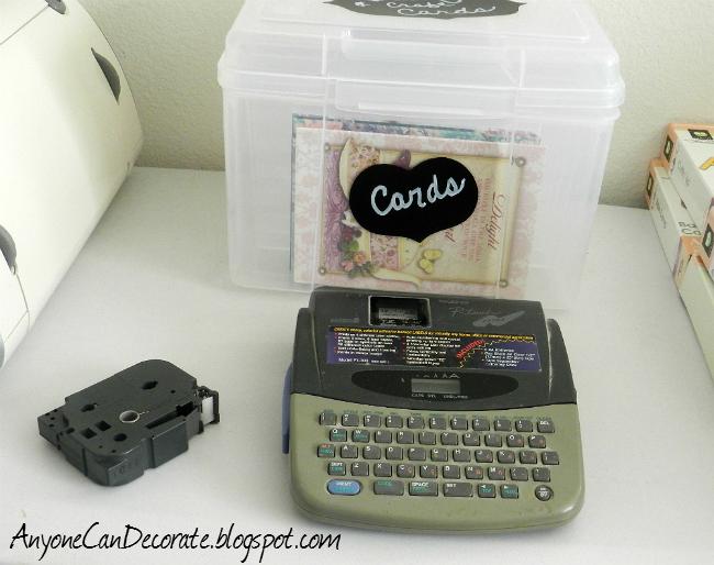 organizing my craft room greeting and craft card organizer, organizing
