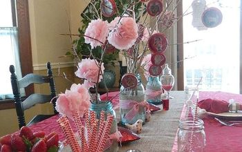 #ValentinesDay Romantic Double Date Tablescape on a Budget