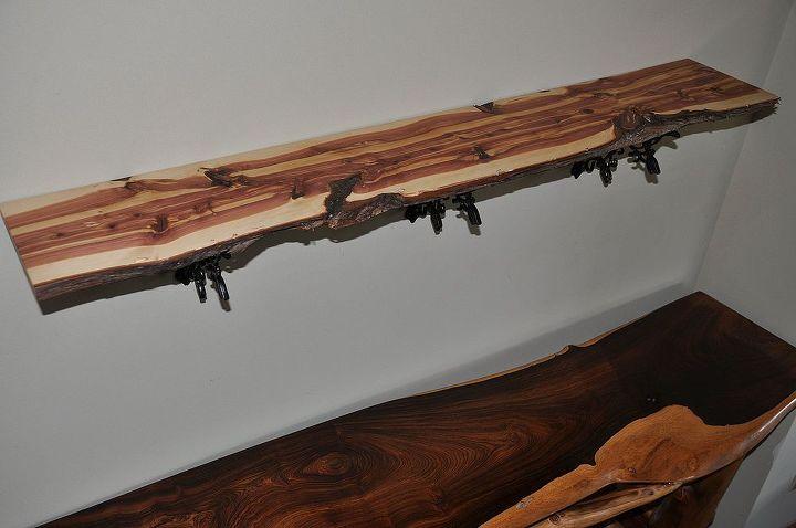 natural edge juniper