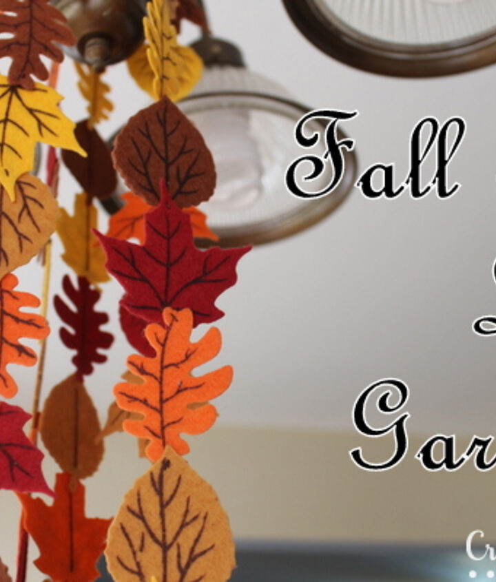The perfect fall addition to your home!  http://www.craftsunleashed.com/index.php/seasonal/favors/fall-holiday-garland/