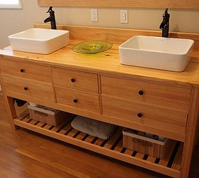 Q Reclaimed Wood Bathroom Vanity, Bathroom Ideas, Diy, Painted Furniture,  Repurposing Upcycling