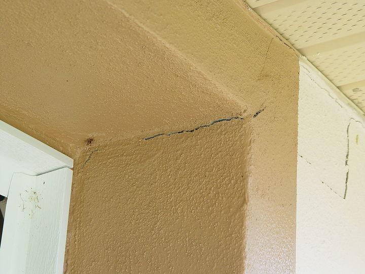 Another crack inside by Garage Door