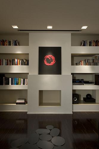 creative built in, storage ideas