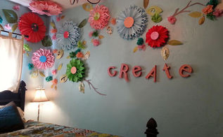 poppin up posies, bedroom ideas, home decor, painted furniture