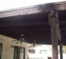 Paint Patio Cover