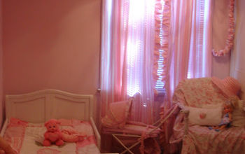 shabby chic bedroom for a little girl, bedroom ideas, home decor, shabby chic, Shabby Chic Pink Bedroom