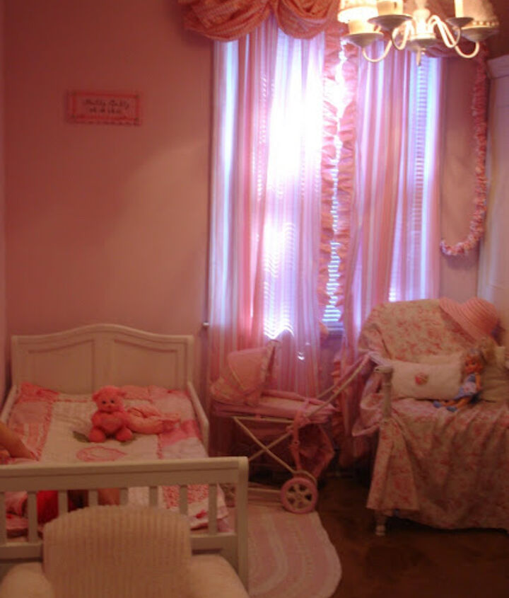 Shabby Chic Pink Bedroom