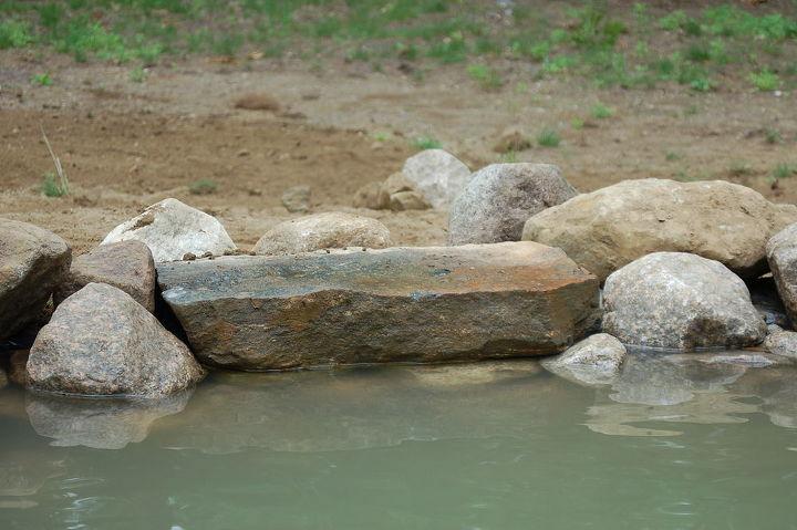 one of the feeding stones.
