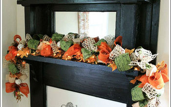fall mantel decorating idea, christmas decorations, seasonal holiday d cor