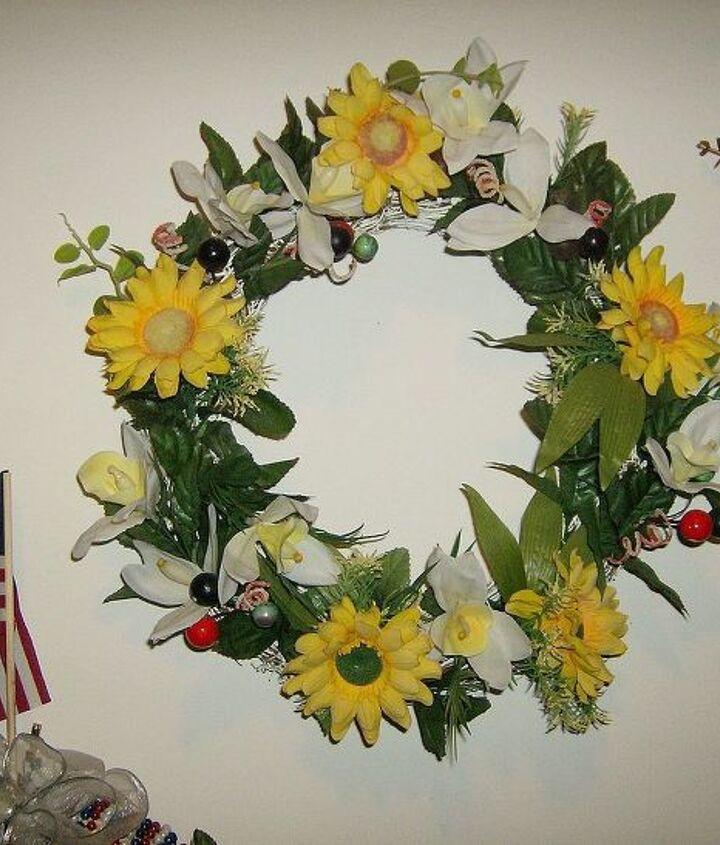 wreaths, home decor