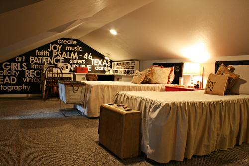 teen girls attic room makeover  bedroom ideas  home decor. Teen Girls  Attic Room Makeover   Hometalk