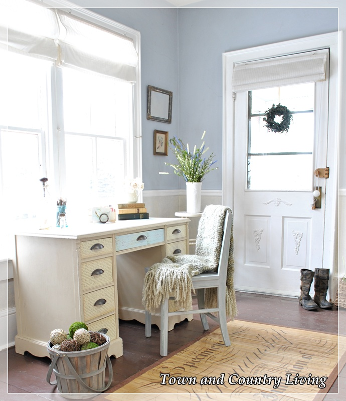 how to create an entryway when you don t have one, foyer, home decor, Lots of natural light pours into this space