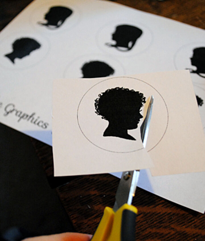 Step 1 - Print the printable and cut out the images.