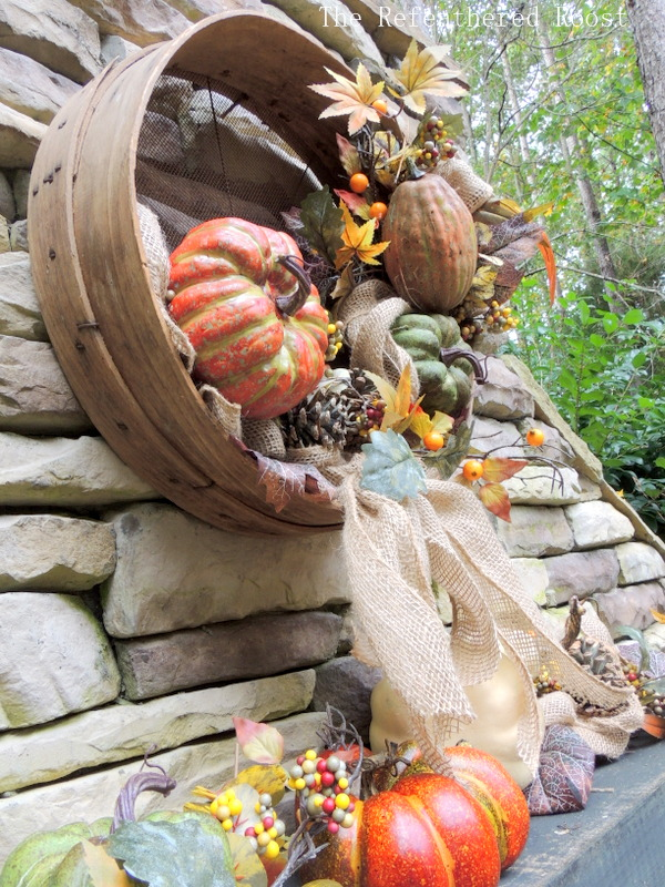a grain sieve fall wreath, crafts, seasonal holiday decor, wreaths