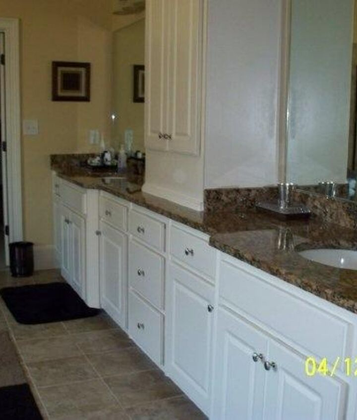 White Cabinets Painted To Look Like Wood Hometalk