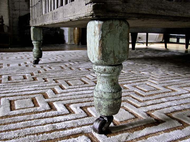 how to make legs with casters, diy, how to, painted furniture
