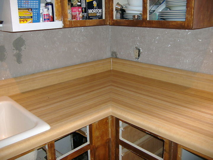 q any suggestions for installing laminate counter tops, countertops