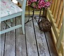 white washing amp distressing porch floor, decks, outdoor living, porches, But I m happy with the way it turned out and I m almost finished with the porch makeover