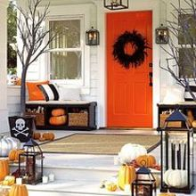 5 ways to get this look halloween porch, halloween decorations, porches, seasonal holiday decor