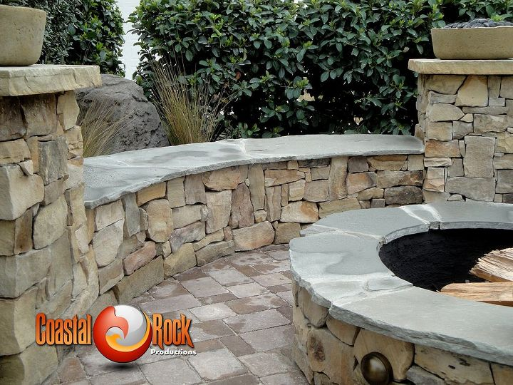 these pictures are of the haas hideaway project that coastal rock productions, concrete masonry, decks, outdoor furniture, outdoor living
