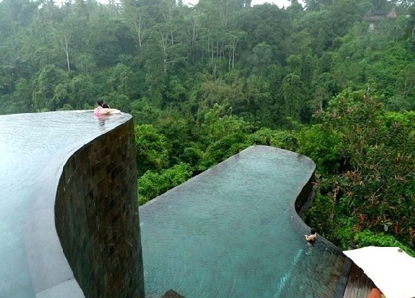 spectacular ubud hotel amp resort in bali, architecture, home decor, outdoor living, pool designs