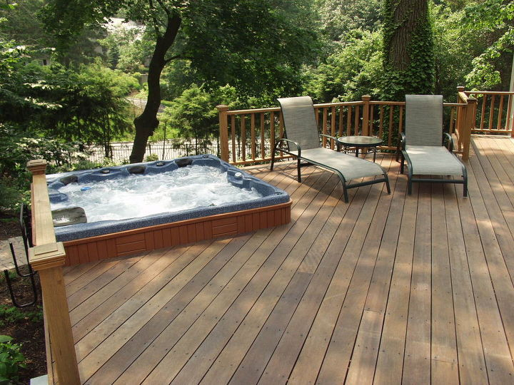 Do You Like Hot Tubs On A Deck Or Built In Decks Outdoor Living