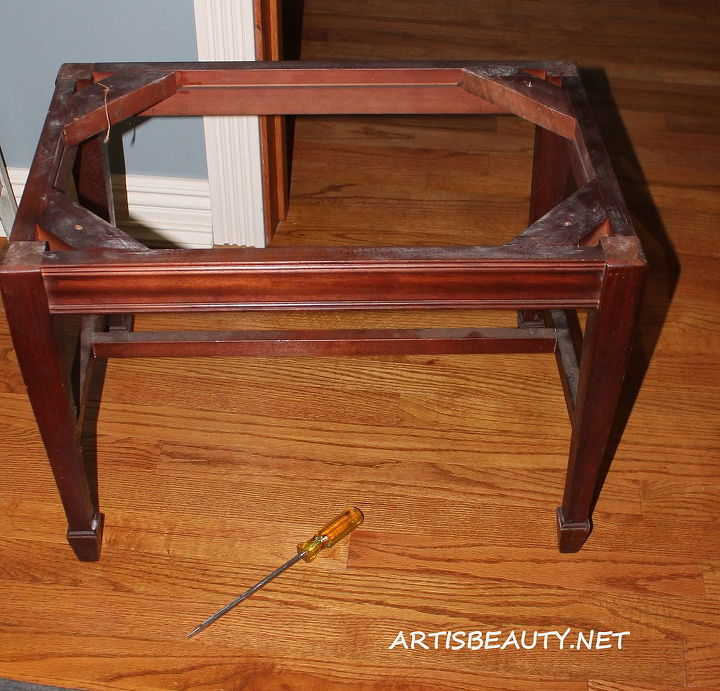 The before end table