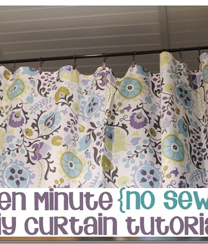 http://www.hometalk.com/602779/how-to-make-a-pretty-no-sew-no-hammer-no-drill-curtain-in-minutes