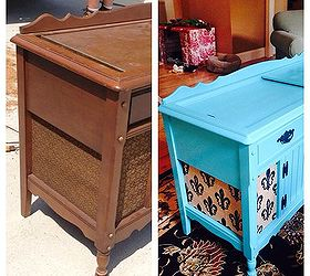 Beau New Life To An Old Record Player Stereo Cabinet, Painted Furniture,  Repurposing Upcycling