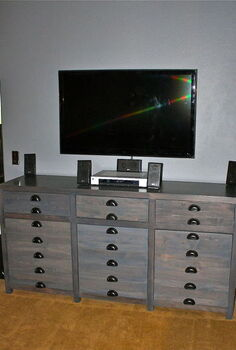 building a media console that resembles a printer s cabinet restoration hardware, doors, kitchen cabinets, painted furniture, woodworking projects