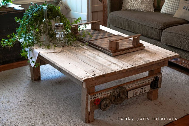a junk styled pallet wood coffee table anyone can make  diy  painted  furniture. A Junk Styled Pallet Wood Coffee Table ANYONE Can Make   Hometalk