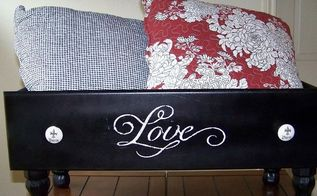 upcycled dresser drawer, painted furniture, repurposing upcycling, The end results