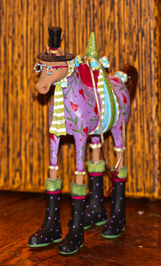 """Year of the Horse """"rep"""" ready for a close-up! View Three."""
