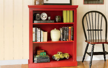 how to build a small bookcase, diy, painted furniture, shelving ideas, storage ideas, woodworking projects