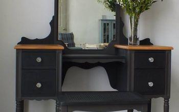 The Little Black Dressing Table