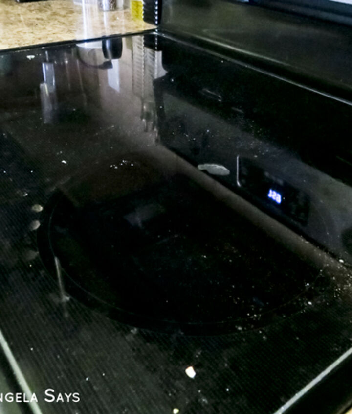 how to clean a glass cooktop and get a streak free shine, appliances, cleaning tips
