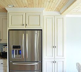 Glazed Kitchen Cabinets With Farmhouse Style, Home Decor, Kitchen Cabinets,  Kitchen Design