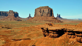, John Ford Point In Monument Valley tribal park