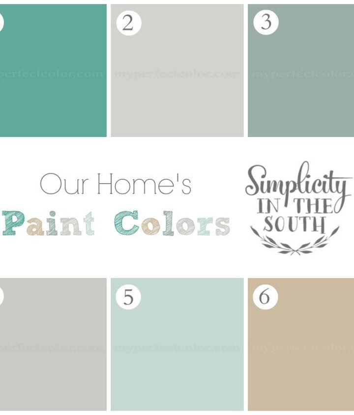 Our Home's Paint Colors