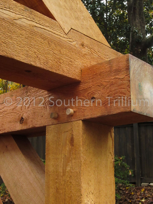 Timber Frame Garden Structure | Hometalk
