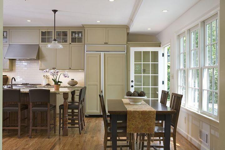 large kitchen remodel, doors, home decor, home improvement, kitchen design