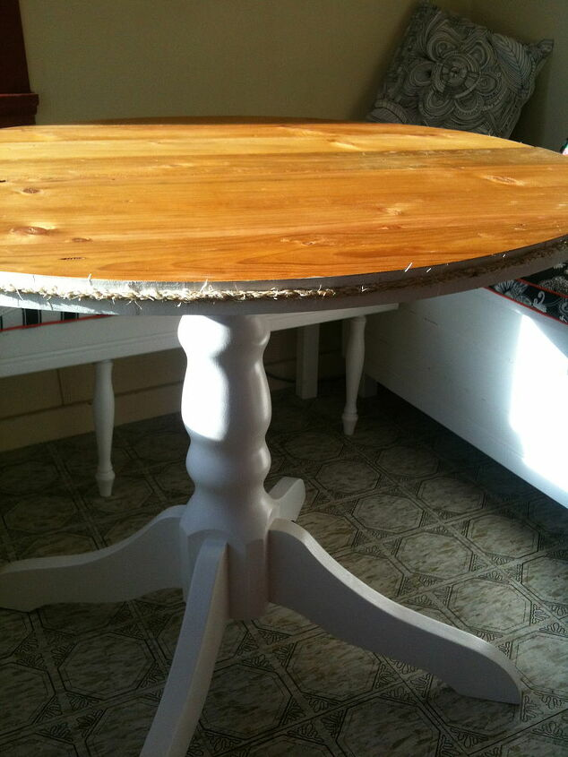 kitchen table, painted furniture