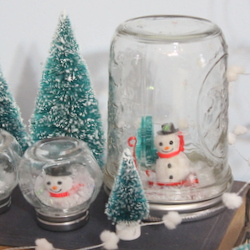 Display your snow globes for winter.  http://www.craftsunleashed.com/index.php/seasonal/homemade-snow-globes/