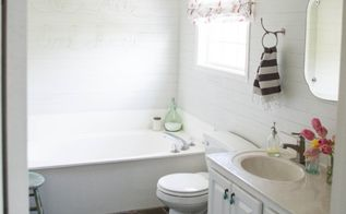 completed bathroom budget makeover, bathroom ideas, home decor